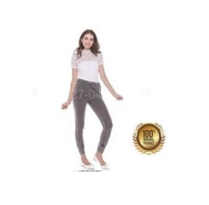 SO Celana Panjang Jogger Wanita Grey Pakaian Branded Original