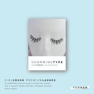 CHARMINGtype Premium Lashes - Bulu Mata Palsu