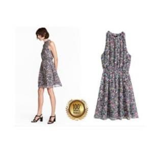 Dress Top Floral Wanita H&M Baju Branded Original Murah