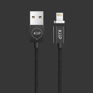 Kabel data Magnetic USB Type C/Micro/ Lightning 3IN1 For IOS & Android - Hitam
