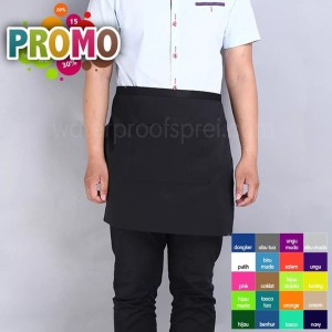 Short Apron Celemek pendek mini Waterproof anti air anti minyak murah