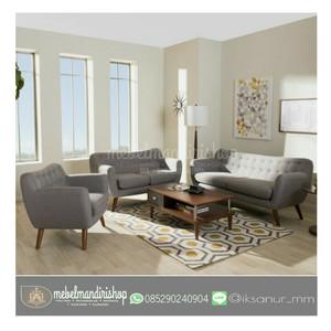 PROMO Kursi Sofa Tamu Retro | Meja Makan Tamu | Furniture Mebel Jepara