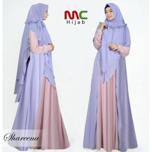 Baju Busana Muslim Wanita Gamis Syari Pesta Sharena Ceruty Terbaru