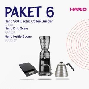 Hario Promo V60 VKB 100 HSV+EVCG 8 B+VST 2000 B