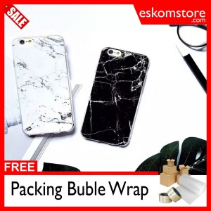 Softcase/Hardcase/Casing/Case Iphone 5/5s Marble Jelly / eskomstore