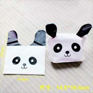 plastik kemasan kartun panda kelinci hpk026