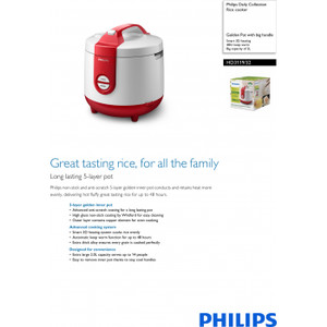 PHILIPS Daily Collection Rice cooker HD3119
