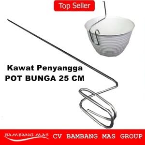 PROMO Kawat Penyangga Anggrek Kawat Pot Anggrek Bunga - Panjang 25 Cm