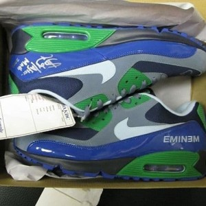 Jual Eminem x Nike Air Max 90 Promo Sample *only 8 pairs Worldwide. Kota Kediri vaksow original | Tokopedia