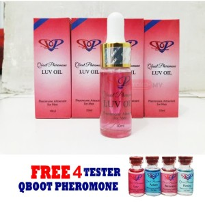 Luv Oil Pheromone 10ml by Qboot Pheromone Murah