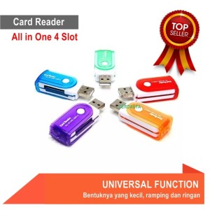 Card Reader All in One 4 Slot universal
