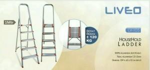 Liveo Tangga Rumah Tangga 5 Step ( 1 meter ) LV 105
