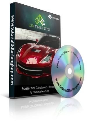 Video Tutorial Master Car Creation in Blender from CG Masters