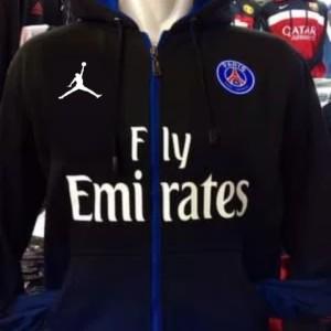 Jaket bola hoodie PSG jordan terbaru