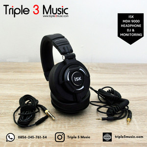 ISK MDH 9000 MDH9000 Headphone Monitor FLAT Headphone DJ