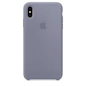 info for b2f04 91e44 Jual Iphone XS Silicone Case Original-Lavender Gray - Kota Tangerang - JS  Accesories | Tokopedia