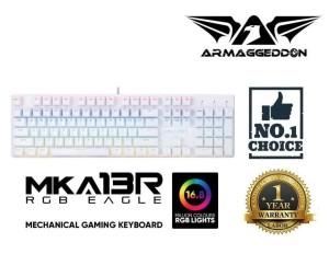 MKA-13R & Raven III RGB Gaming Keyboard Mouse Free Assault AS-33H