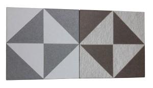 Keramik Kamar Mandi Ikad SL 25598 Brown - SL 24598 Grey 25x25 Kw 1