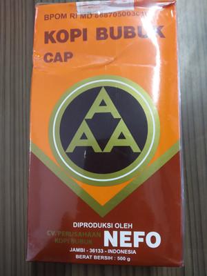 Kopi Bubuk Jambi Nefo cap AAA 500 G