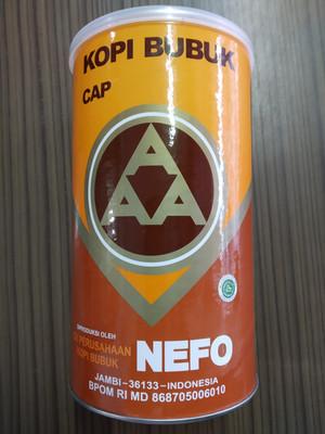 Kopi bubuk JAMBI Nefo cap AAA 450 gram