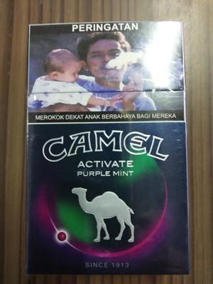 Rokok Camel Activate Purple Mint 20