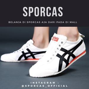 new product 35d00 fdd84 Jual ORIGINAL Sepatu Slip On Onitsuka Tiger Mexico 66 White Terbaru 2018 -  Kota Bandung - Aldiva-Shop | Tokopedia