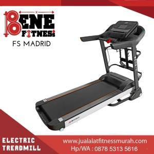 Treadmill Elektrik FS MADRID alat olahraga lari fitness