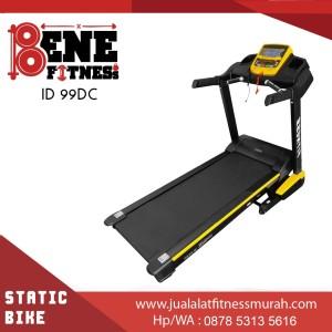 ID 99 DC Treadmill elektrik BESAR alat fitnes olahraga lari