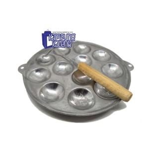 Cetakan Telur Puyuh - Kue Lumpur Mini