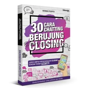 Buku 30 Cara Chatting Berujung Closing + Bonus Voucher Website