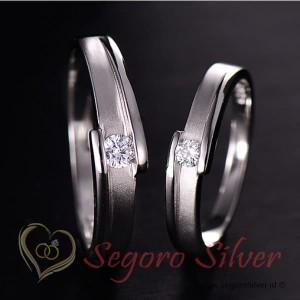 Cincin Kawin Tunangan Perak Couple Ekslusif Model