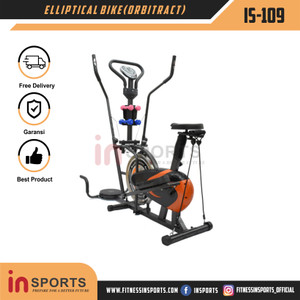 Promo Sepeda Orbitract Elliptical IS-109 Termurah Insports