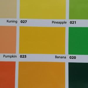 Jual No Drop Warna Kuning 025 Banana Cat Pelapis Anti Bocor 4 Kg