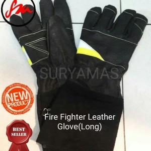 Sarung tangan pemadam kulit/Fire fighter genuine leather glove PREMIUM