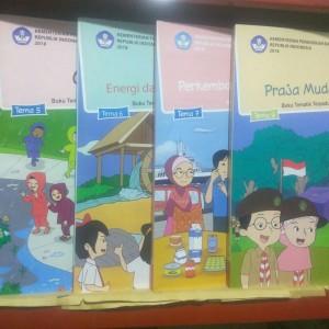 Paket Buku Tematik Kelas 3 SD Semester 2 Tema 5678 REVISI 2018 KURIKUL