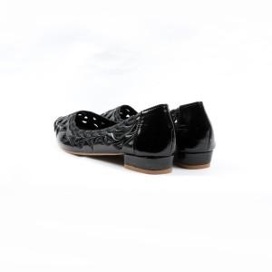 FLATSHOES WANITA-DONATELLO ORIGINAL-C3331000-BLACK-SIMPLE NYAMAN