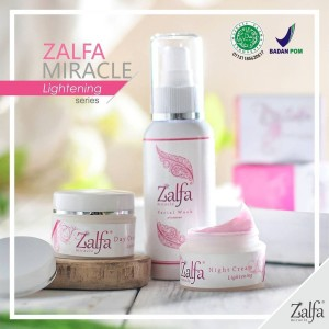 Terlaris!! Paket Lightening Zalfa Miracle