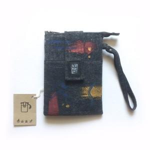 Pocket Pouch Organizer - Semburart - Jet Black