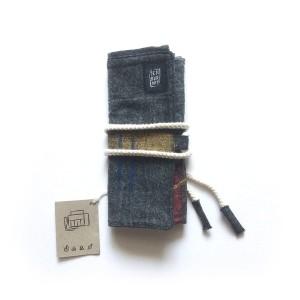 Pencil Roll - Tempat Pensil Gulung - Semburart - Jet Black