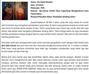Jual Obat Herbal Mioma Uteri Kista Ovarium Kista Rahim Kista Fibroid Jakarta Timur Assyffa Herbal Tokopedia