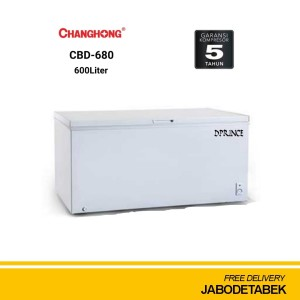 Changhong Chest Freezer CBD-680 600liter