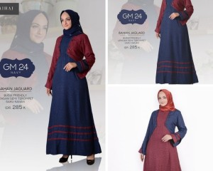 CASUAL DRESS HAI HAI BAJU MUSLIM TERBARU