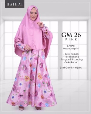 GAMIS HAI HAI PROMO CASUAL DRESS