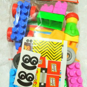 Mainan Edukasi Intellect Block Set