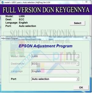 Jual Resetter Epson L655 ECC FULL VERSI Dengan Keygen Generator 100% ALL PC  - SOLUSIELECTRONIKA | Tokopedia