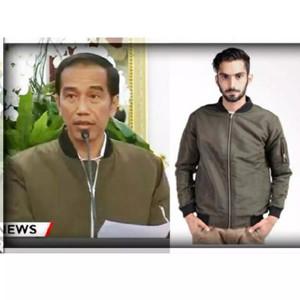 65+ Foto Jaket Bomber Jokowi Original Kekinian