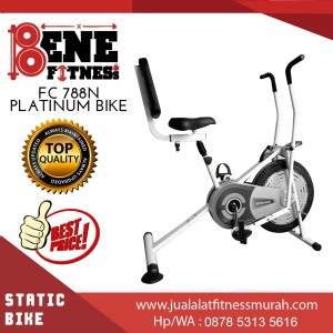 Platinum Bike + SANDARAN FC 788N sepeda statis alat fitness olahraga