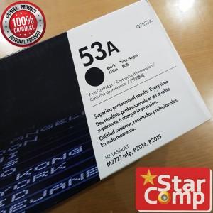 Hp LaserJet 53A Black Toner Q7553A