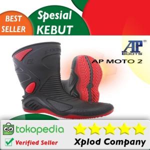 Ap Boots Moto 2 Sepatu Safety Bikers Pengendara Motor dari Ap Boot