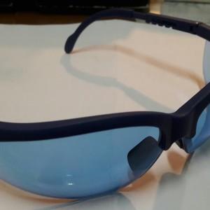 Kacamata safety lensa biru/kacamata biru(polycarbonate)